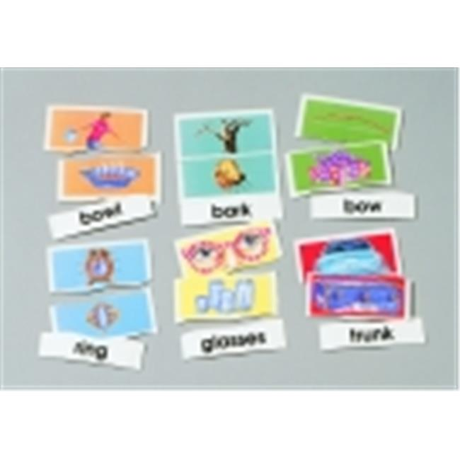 Didax Homonyms Matching Puzzle Card Set