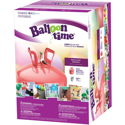 "Balloon Time Jumbo 12"" Helium Tank Blend Kit"