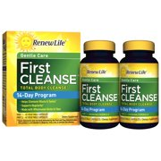 Renew Life 14 Day First Total Body Cleanse Capsules, 84 Ct