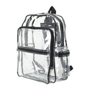 ImpecGear Kid's Clear Backpack, Adults School Clear Backpack, Outdoor Transparent Backpacks.