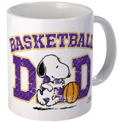 CafePress Snoopy Basketball Dad Mug Unique Coffee Mug, Coffee Cup CafePress by
