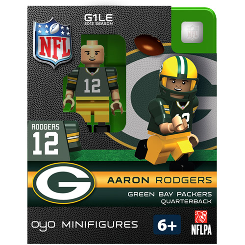 OYO NFL 2013 Packers Aaron Rodgers Mini Action Figure