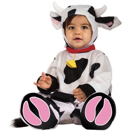 Moo Cow Baby Infant Costume - Baby 12-18 - Baby Cow Costume