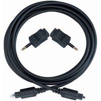 RCA 6-Foot Digital Optical Cable (DV10) for Connecting Your Audio Source to a HDTV or A/V Receiver