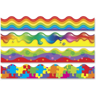 Trend Color Blast Bolder Borders Variety Pack TEP92916