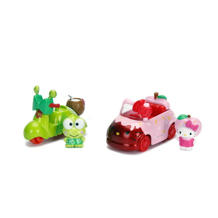Dazzle Dash Hello Kitty Die Cast Twin Pack by Jada Toys - Assortment May Vary (Hello Kitty Toms Shoes)