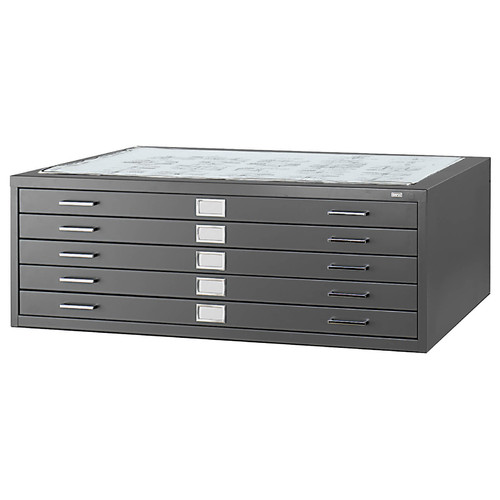 Safco Products Company Five-Drawer Flat File Filing Cabinet