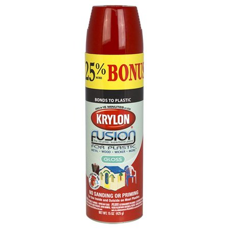 krylon red pepper gloss fusion spray paint 15 oz. Black Bedroom Furniture Sets. Home Design Ideas