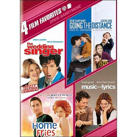 4 Film Favorites  Drew Barrymore   Music And Lyrics   Going The Distance   The Wedding Singer   Home Fries  Widescreen
