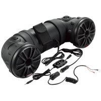 "New Boss ATV25B Dual 450W 6.5"" ATV/Marine Amplifed Waterproof Speakers+Bluetooth"