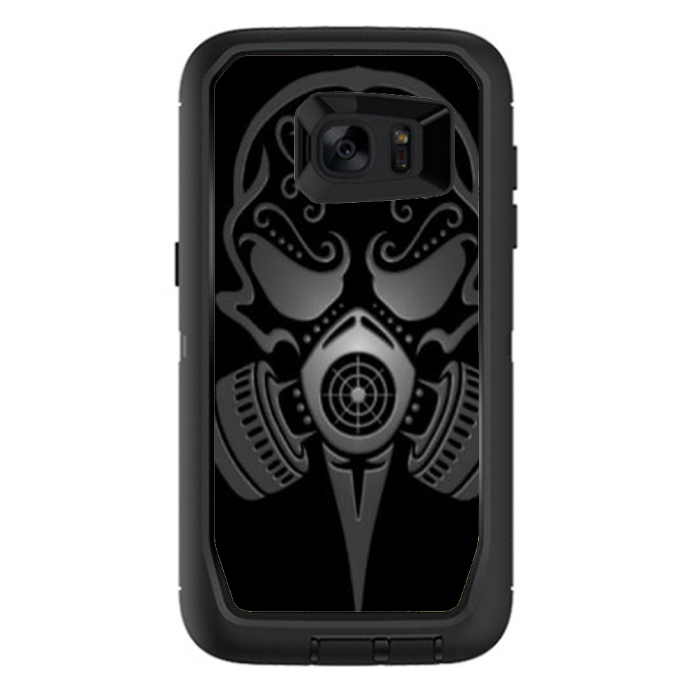Skins Decals For Otterbox Defender Samsung Galaxy S7 Edge Case   Gas Mask by Itsaskin