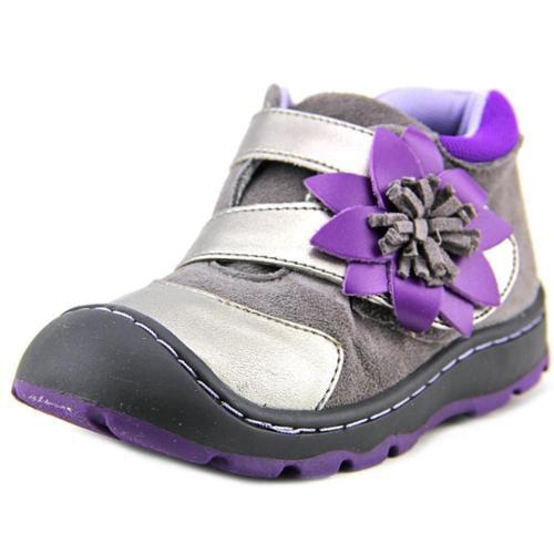 Jumping Jacks Flower Burst Toddler US 8 W Silver Sneakers EU 25