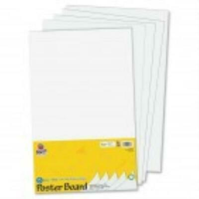 2PK Pacon Half-size SHeet Poster Board 5 per pack by