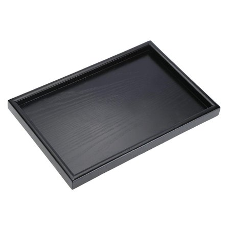 Yosoo Rectangle Shape Solid Wood Tea Coffee Snack Food Meals Serving Tray Plate Restaurant Trays, Wood Tea Tray,Tea Tray ()