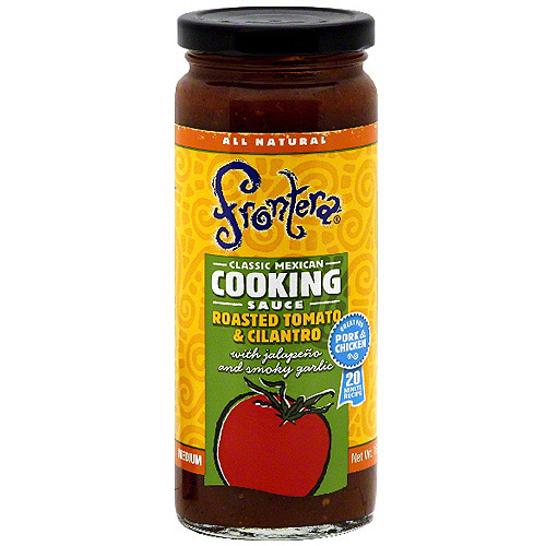Frontera Roasted Tomato & Cilantro Cooking Sauce, 16 oz (Pack of 6)
