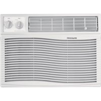 Frigidaire 10,000 BTU 115V Window-Mounted Compact Air Conditioner with Mechanical Controls