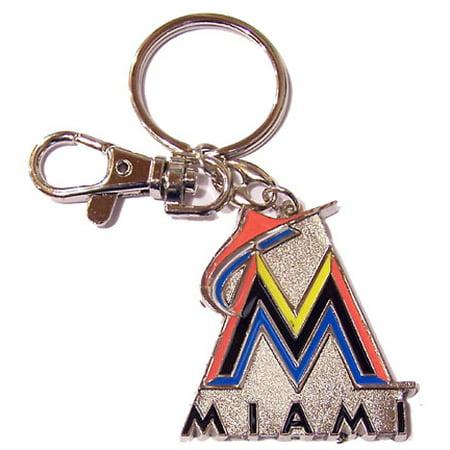 Marlin Tag - Miami Marlins Logo Key Chain