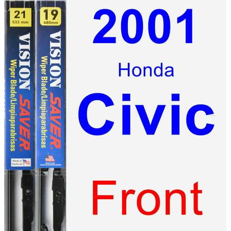 2001 Honda Civic Wiper Blade Set/Kit (Front) (2 Blades) - Vision