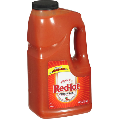 Frank's Red Hot Original Cayenne Pepper Sauce, 64 oz