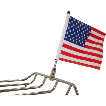 Parade Fixed Motorcycle Flag Mount - 1/2