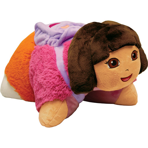 As Seen on TV Nickelodeon Pillow Pet Pee Wee, Dora the Explorer by Pillow Pets