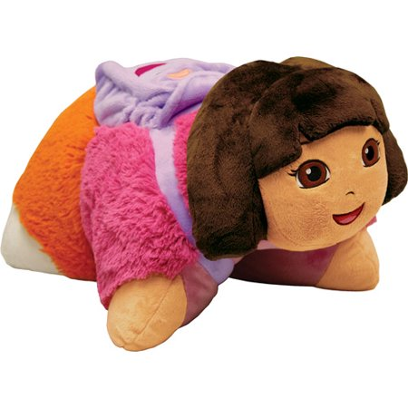 As Seen on TV Nickelodeon Pillow Pet Pee Wee, Dora the Explorer