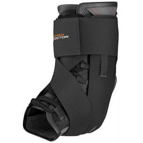 Shock Doctor Ultra Wrap Lace Ankle Support Black - Adult