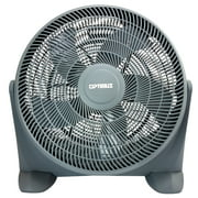 Optimus 20 In. Turbo High Performance Air Circulator Fan, Grey