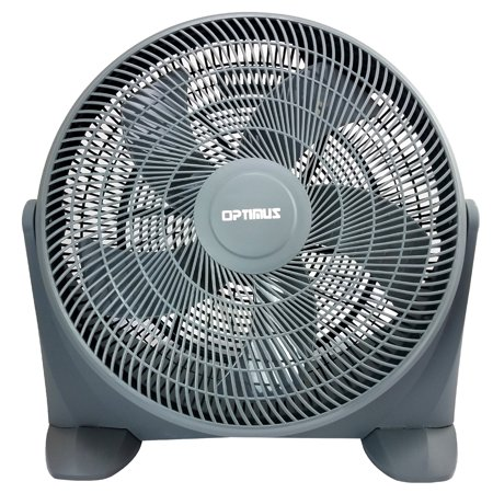 Turbo Fan - Optimus 20 in. Turbo High Performance Air Circulator, Grey