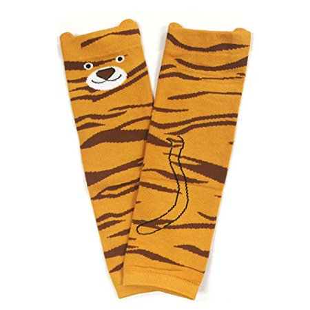 Colorful Baby Leg Warmers - ALLYDREW Animals and Fun Colorful Baby Leg Warmers, Tiger