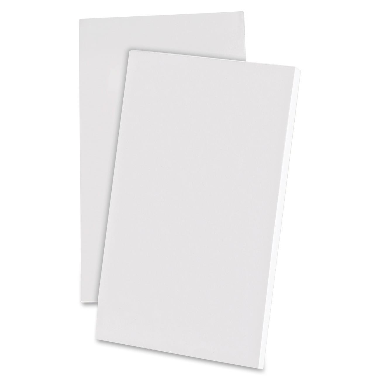 Ampad Scratch Pad Notebook Unruled 3 x 5 White 100 Sheets Dozen 21730