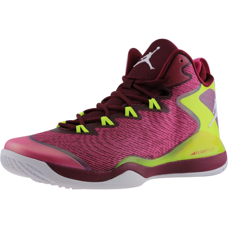 Nike Men's Jordan Super Fly 3 Deep Garnet / White-Fusion ...