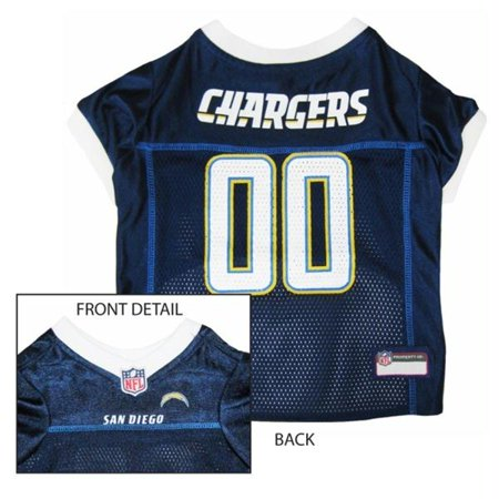 Los Angeles Chargers NFL Dog Jersey Kool Tees