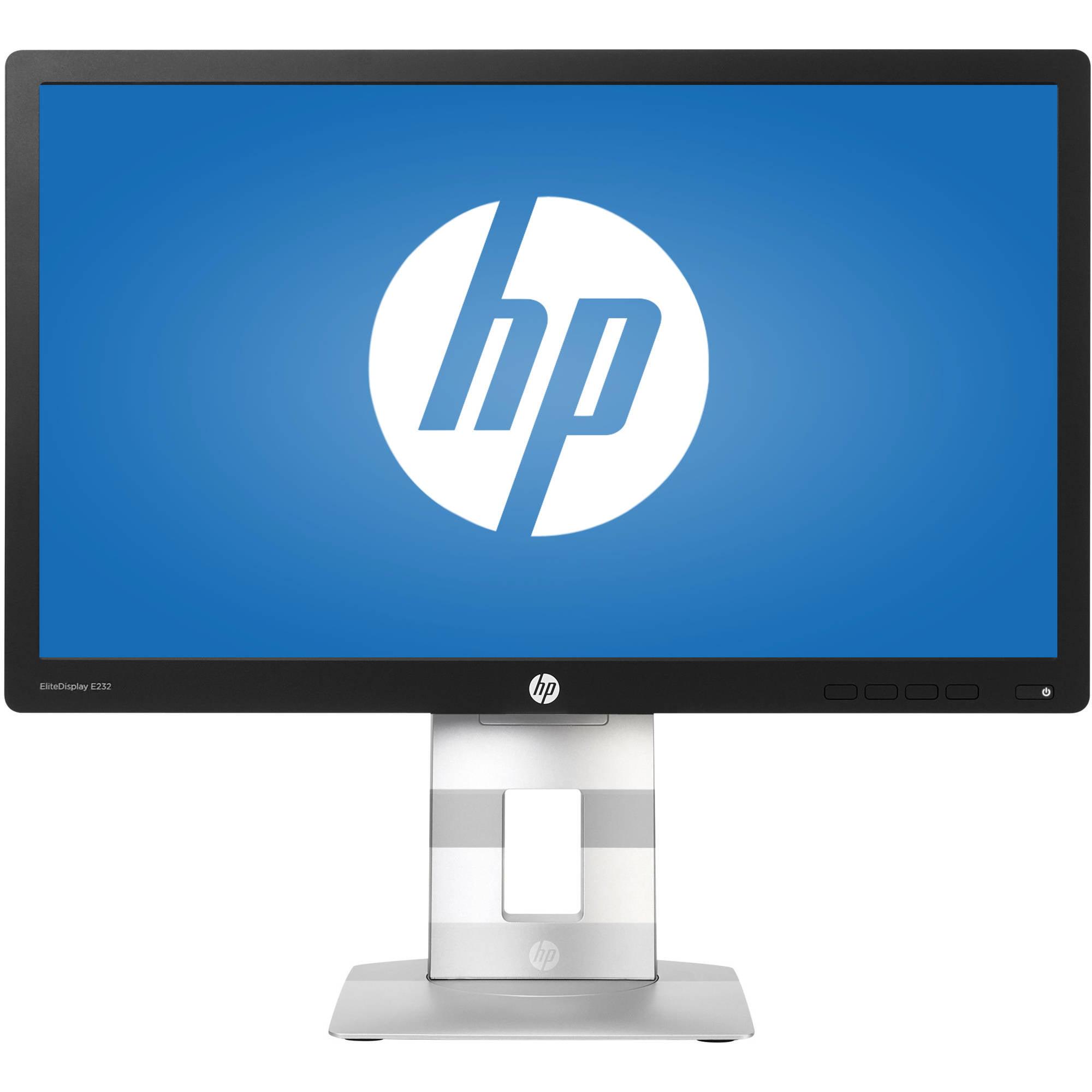 """HP EliteDesk 23"""" LED LCD Widescreen Monitor (E232 Black)"""
