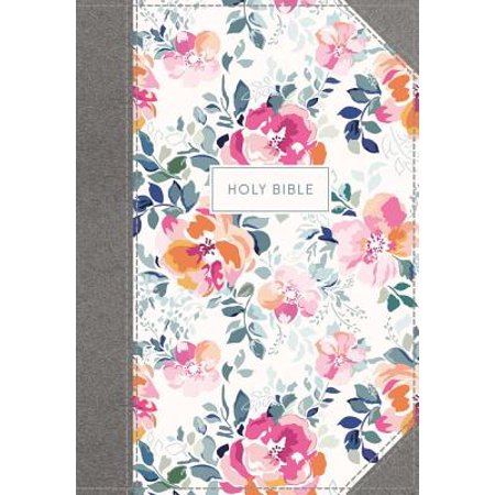 KJV, Journal the Word Bible, Cloth Over Board, Pink Floral, Red Letter Edition, Comfort Print : Reflect, Journal, or Create Art Next to Your Favorite