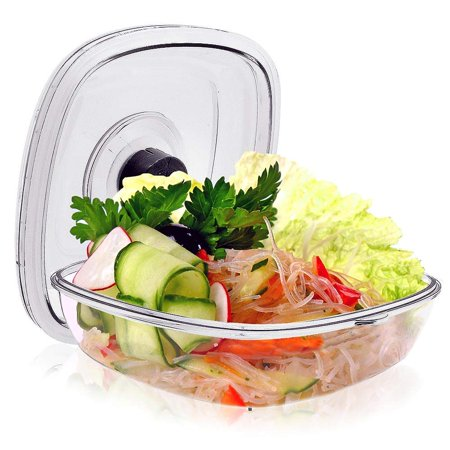 Kitchen Air Vacuum Sealer Container - Air Sealing Food Canister Accessory (1+ Liter)