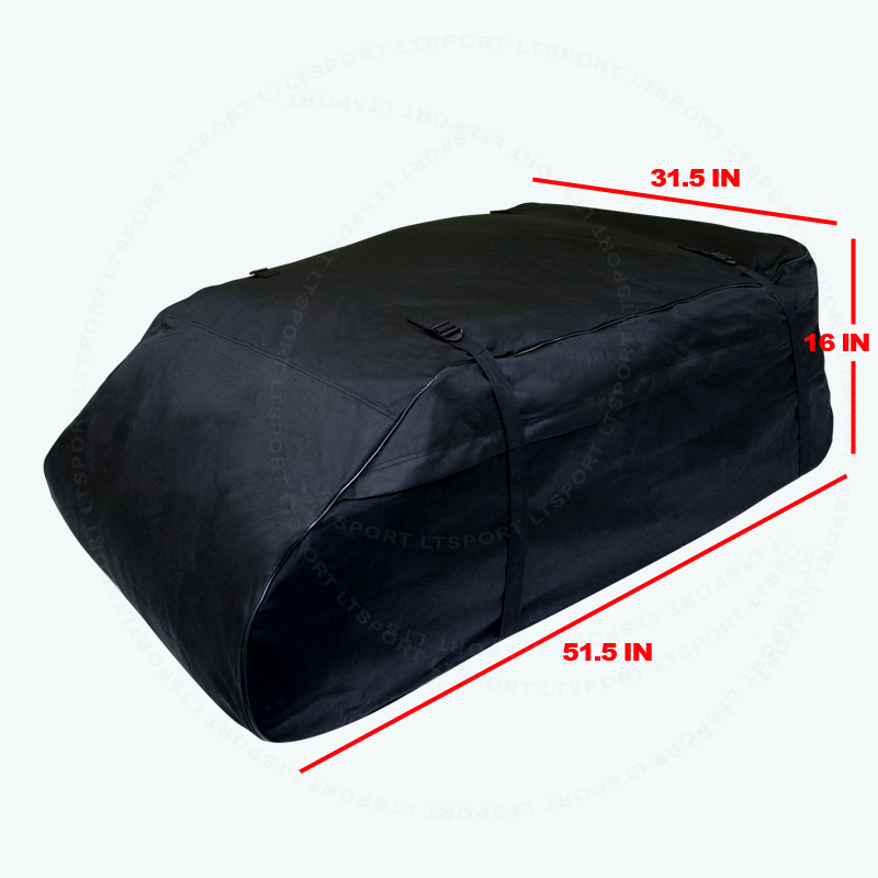 Rooftop Waterproof Cargo Bag Aerodynamic Travel Set For 2001-2001 Infiniti 1 Set For EX35