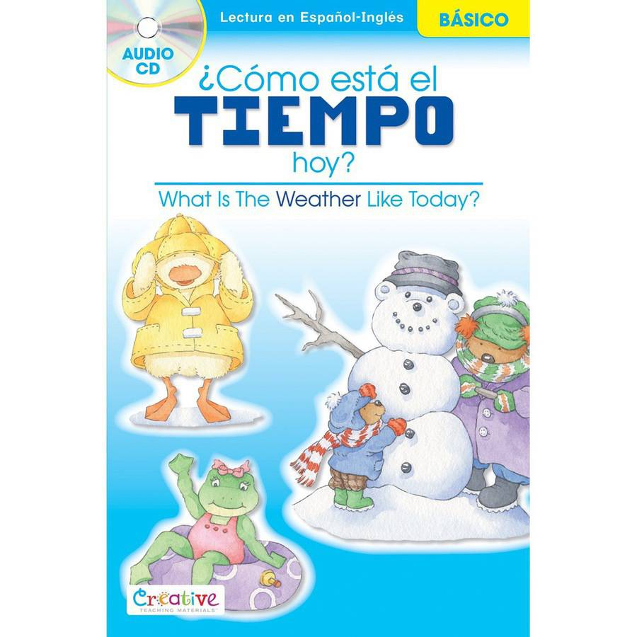 Creative Teaching Materials Spanish-English Book with CD, What Is The Weather?