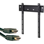 """Omnimount OC80F.2 37""""-55"""" OmniClassic Fixed Mount and Axis 41204 High-Speed HDMI Cable with Ethernet, 9'"""