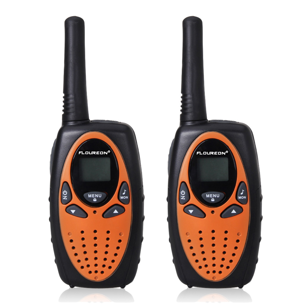 FLOUREON 22 Channel Twin Walkie Talkies UHF462-467MHz 2-Way Radio 3KM Interphone by