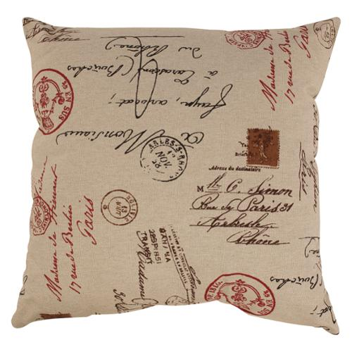 Pillow Perfect French Postale 24.5-inch Floor Pillow