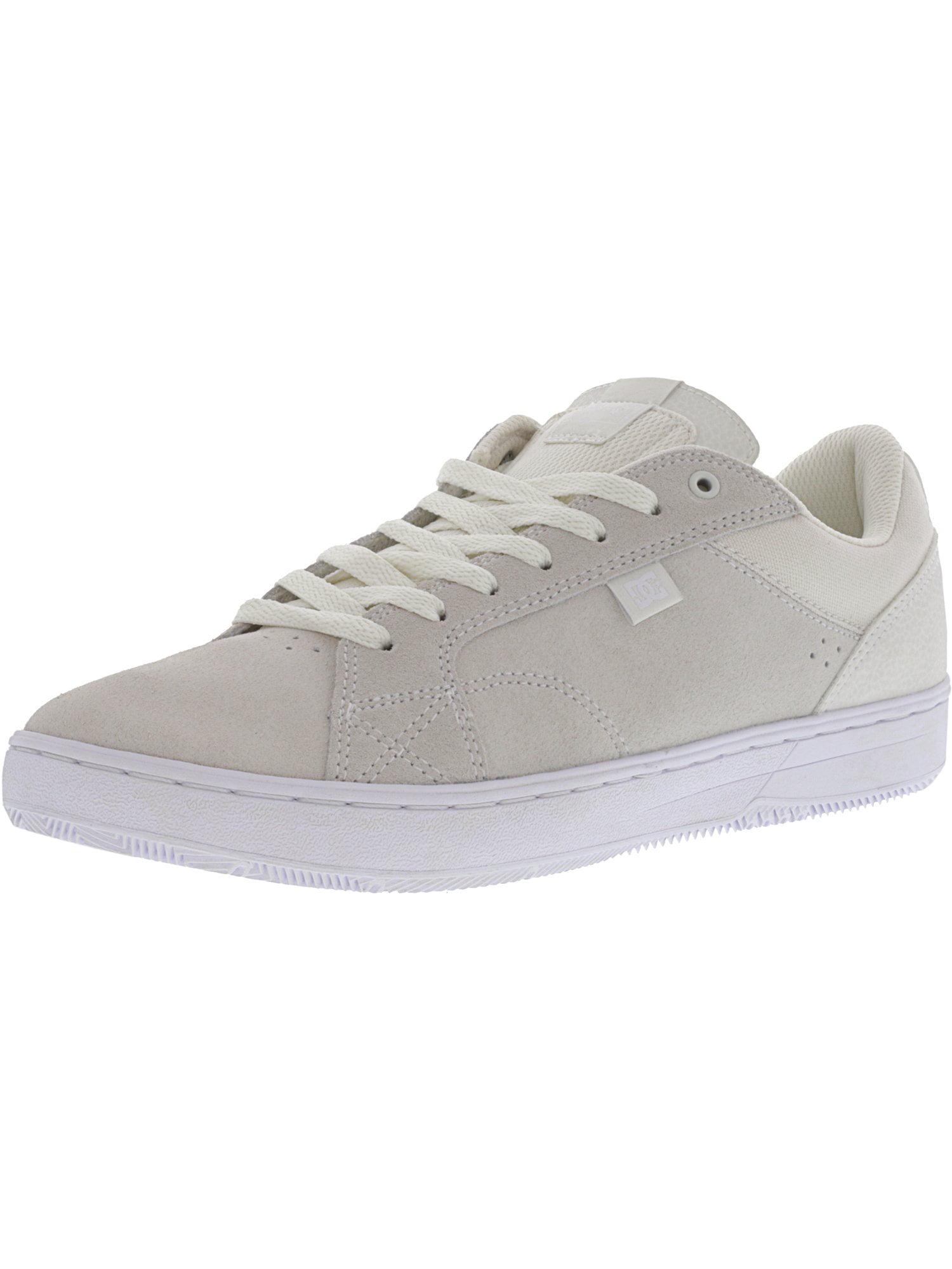 Men's Astor S Cream Ankle-High Leather Skateboarding Shoe - 10.5M