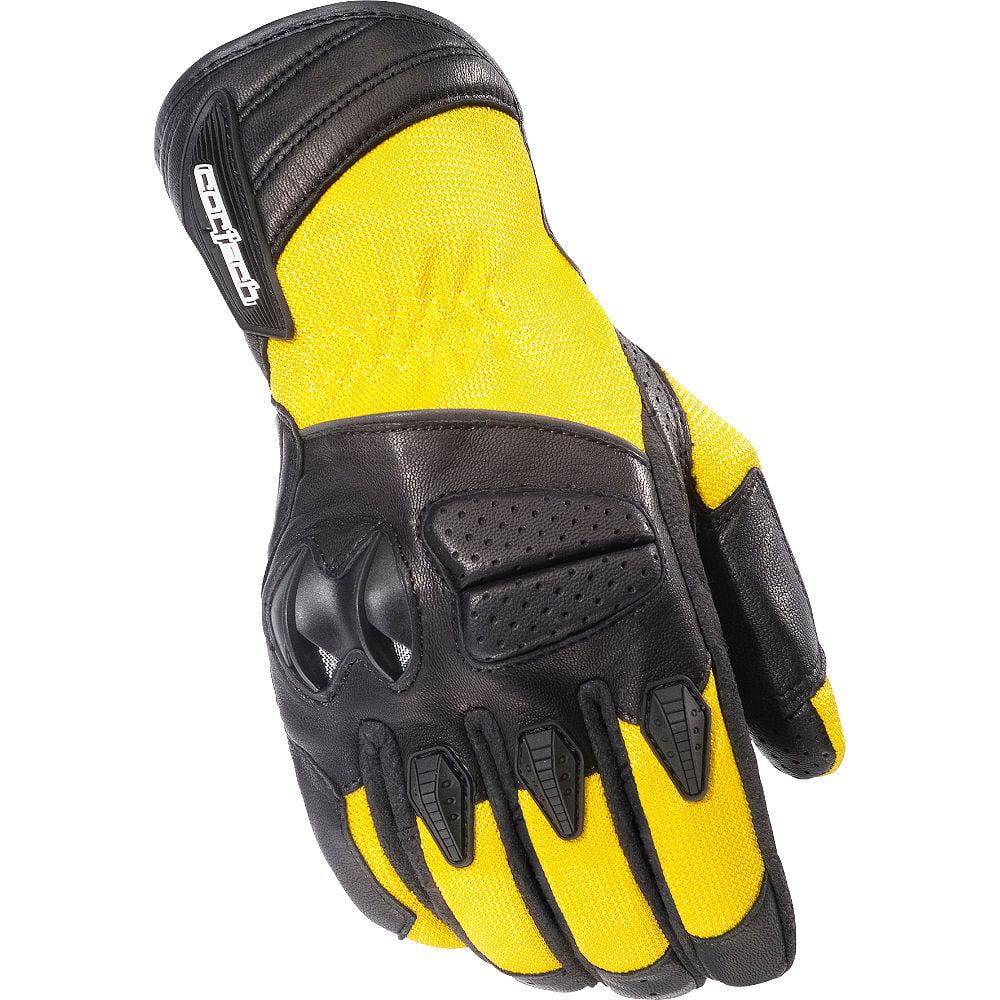Cortech GX Air 3 Textile Gloves Yellow
