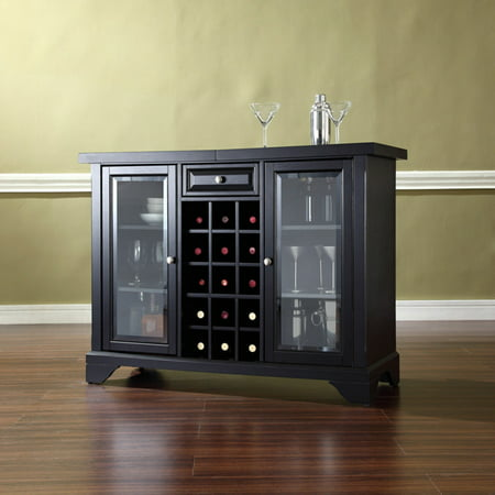 Crosley Furniture LaFayette Sliding Top Bar Cabinet ()