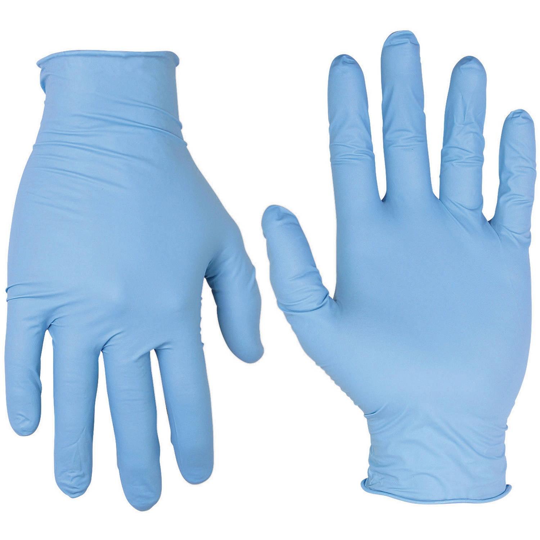 Work Gear 2331PC Pre Powdered Nitrile Disposable Glove Box 10-Count
