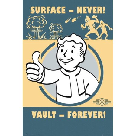 The Maine Forever Halloween Poster (Fallout 4- Vault Forever Poster -)