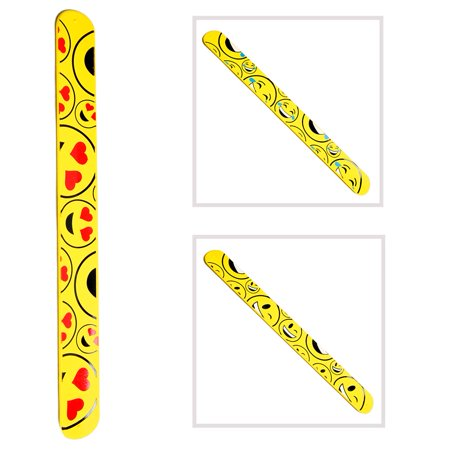 Emoticon Slap Bracelet (Slap Bracelets 90s)