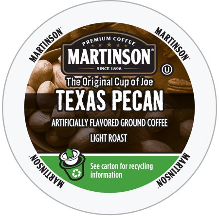 Martinson Single Serve Coffee Capsules, Texas Pecan, 24 - Texas Coffee