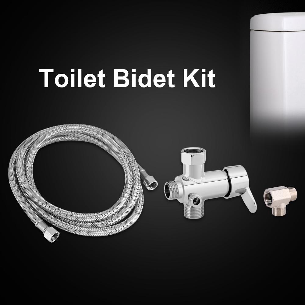 Eecoo Toilet Bidet Hose Toilet Bidet Attachments Hot Cold Water