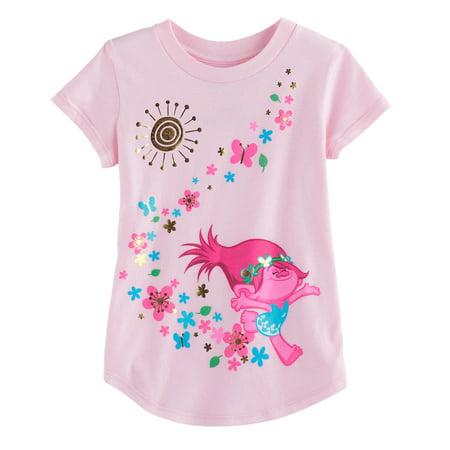 dec3edd37306 Generic - Toddler Girl Jumping Beans DreamWorks Trolls Poppy Graphic ...